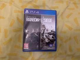 Tom clancy's Rainbow Six Siege ps4 fisico