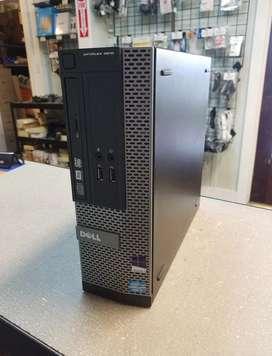 Torre cpu dell escritorio computadora 3010 intel core i3 3240 3.40ghz