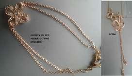 coleccion collar aretes y pulsera yanbal