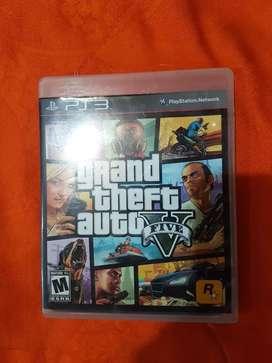 Grand Theft Auto V con mapa play 3