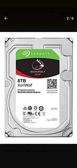 Disco duro 8tb seagate ironwolf