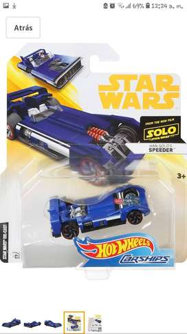 Autito Hot Wheels Original Star Wars Auto Película Han Solo, Landspeeder