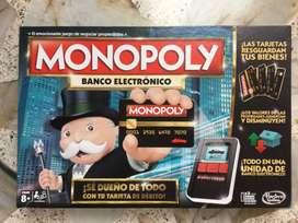 Monopoly Banco Electrónico - Juego de Mesa