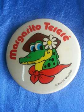 Prendedor Antiguo Margarito Terere