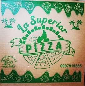 Pizzeria la superior requiere personal motorizado para venta
