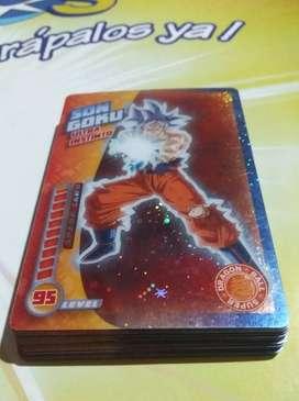 Cards Dragon Ball Super Torneo del Poder - Panini (Original)l)