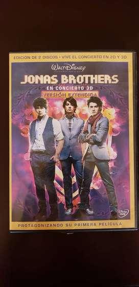 Jonas Brothers en concierto 3D versión extendida