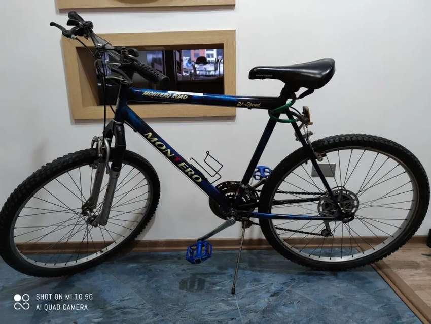 """Bicicleta Montero 21 """" excelente estado de oportunidad 0"""