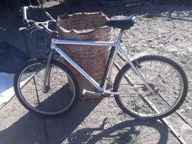 Vendo bici de aluminio impecable
