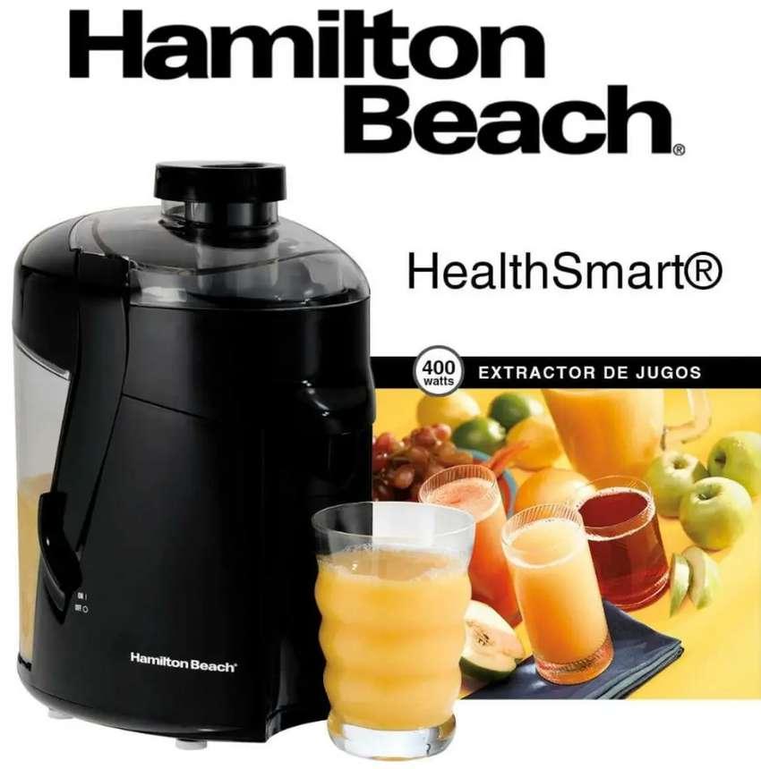 Vendo extractor Hamilton Beach como nuevo $120.000