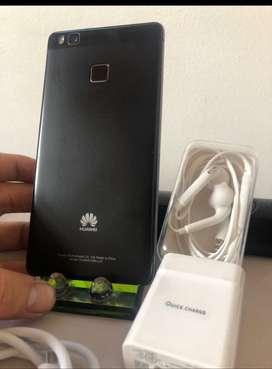 Huawei p9 lite negro como nuevo con garantia
