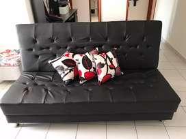 Sofá cama reclinable 3 pocisiones en pranna nuevo para estrenar