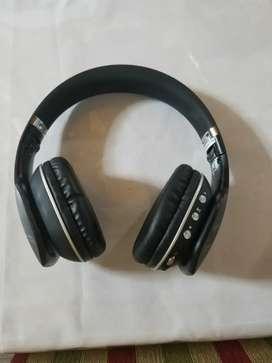 Auriculares Marca Nisuta, Bluetooth y Alambricos, Luces Led, Cargador y Cable Jack 3,5 mm