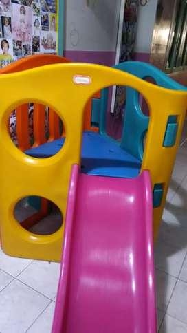 Juego Infantil Exterior Little Tikes Trepador Tobogán  Interactivo