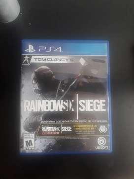 Juego Rainbowsix Siege ps4