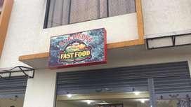 Se vende fast food