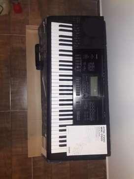 Vendo teclado casio CTK1200 de 5 octavas 10 de 10