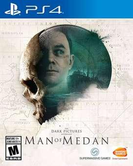 The Dark Pictures MAN OF MEDAN como nuevo para PS4