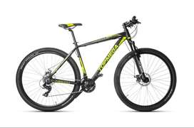 Bicicleta Mountain Bike Rodado 29 Top Mega Sunshine Aluminio
