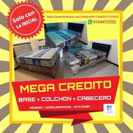 CREDITO COLCHON ORTOPEDICO + BASE