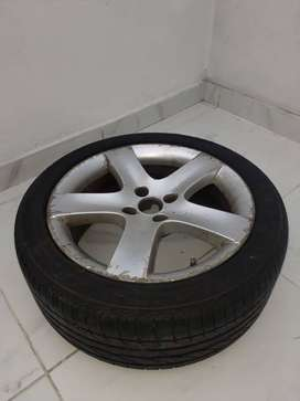"""Rueda 17"""" de Peugeot 408"""