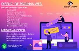 DISEÑO DE PAGINAS WEB DESDE $200