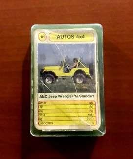 Cartas Cromy Autos 4 X 4