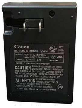 Canon Lce17 Cargador de Bateria ORIGINAL