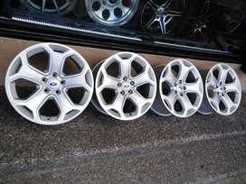 4 Aros Nuevos Ford Edge, Explorer, Fusion Originales R18 Magnesio 5huecos 114mm