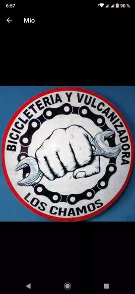 Bicicleteria y vulcanizadora los chamos !!