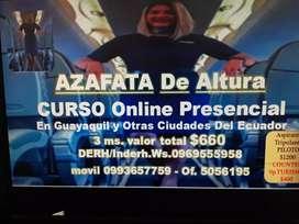 AZAFATAS DE ALTURA CURSO ONLINE PRESENCIAL