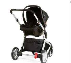 Vendo coche mothercare color rojo