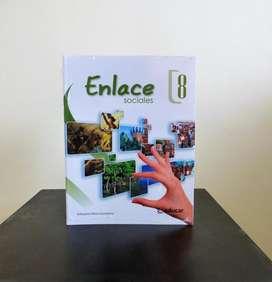 Libro Enlace Sociales 8 Editorial Educar