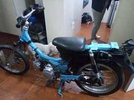 Vendo ciclomotor 115 encendido eléctrico