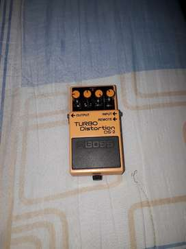 Pedal de guitarra Boss ds-2 (turbo distortion)