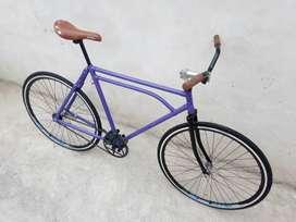 Bicicleta Rod 28 Inglesa Clásica Estilo Fixie