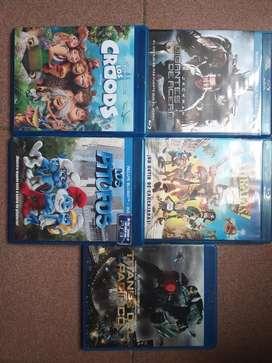 Películas Blu ray Originales