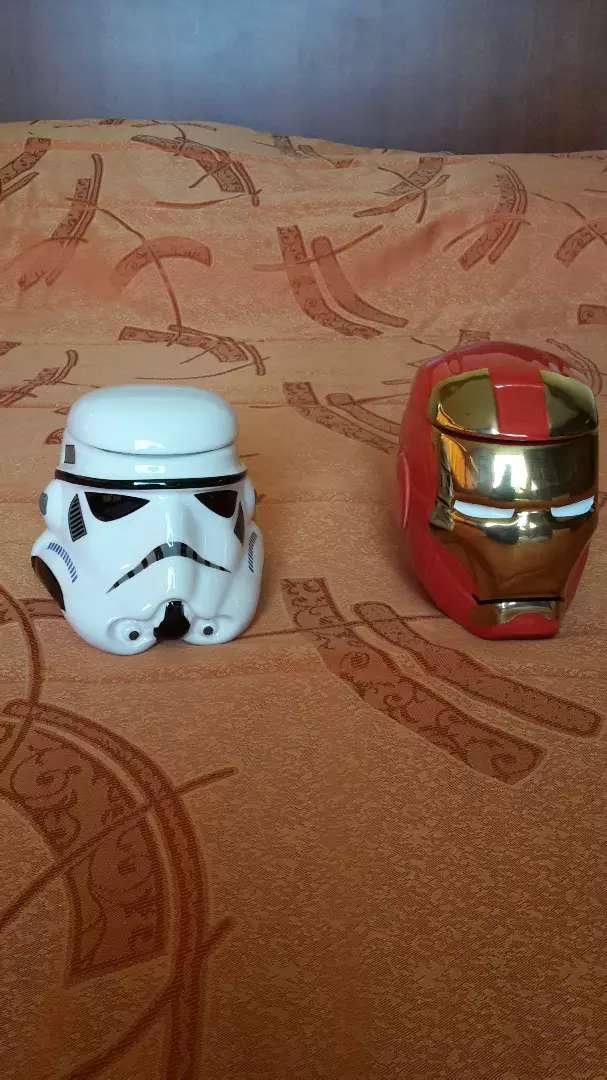 Tazas 3D nuevas y de cerámica 0