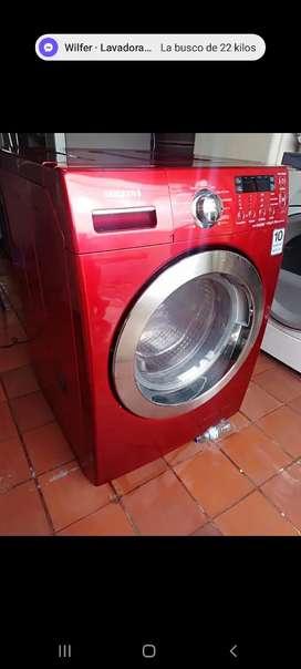 Venta  lavadora  secadora  marca  Samsung  33 libras poco  uso ncon garantía