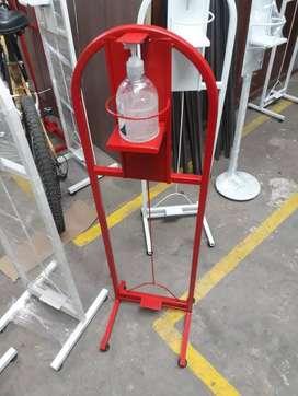dispensador de gel a pedal