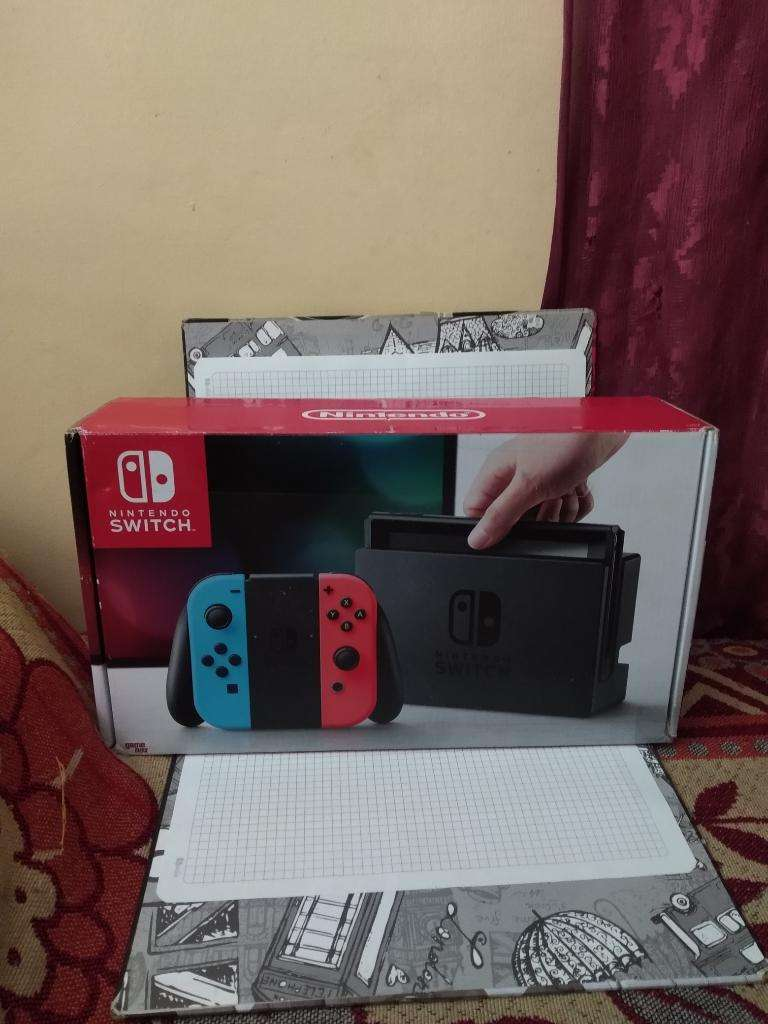 Nintendo Switch Programada 24 Juegos 0