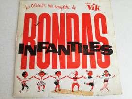 La Colección Más Completa De Rondas Infantiles - Disco vinilo