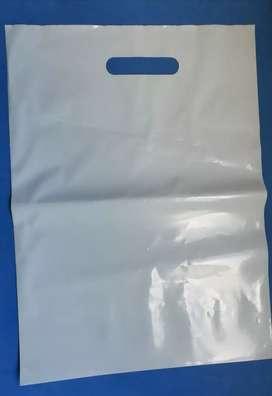 Bolsas plásticas tipo boutique. Nuevas.