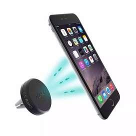 Soporte Holder Magnético Celular Tablet Gps Para Carro Marca Aukey