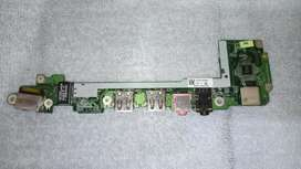 Acer Aspire One -USB-Audio-Puerto Ethernet - Card Reader Port Board