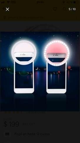Vendo aro selfie para celular nuevo