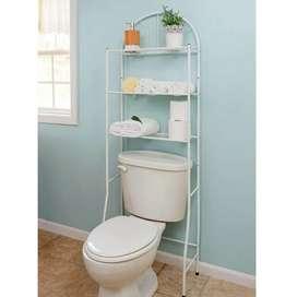 Organizador repisa baño 3 niveles metálico
