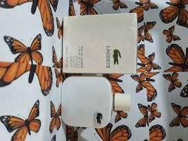 Perfume lacoste blanca
