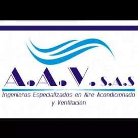 AIRE ACONDICIONADO - INSTALACIÓN - REPARACIÓN - MANTENIMIENTO