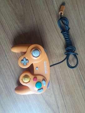 Control de game cube naranja